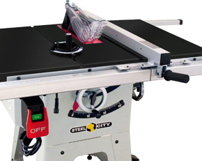 Steel City Tool Works 35990G 10-Inch Contractor Table Saw