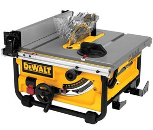 DEWALT DWE7480 Compact Job Site Table Saw