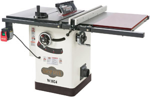 Shop Fox W1824 Hybrid Table Saw – Enviable Product