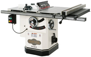 Shop Fox W1819 3 HP Table Saw – Easy Glide
