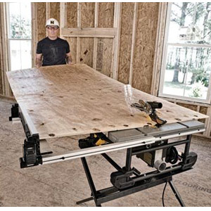 DEWALT DWE7490X 10-Inch Job Site Table Saw